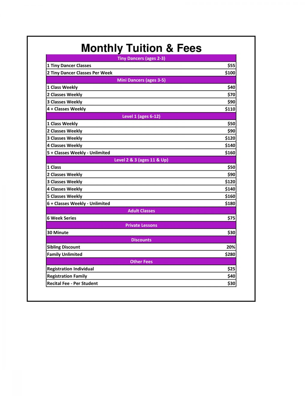Tuition & Fees 2018 - 2019-1